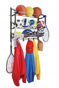 sports equipment organizer