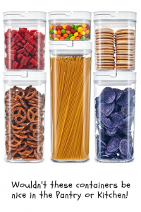 food storage containers #pantryorganizers